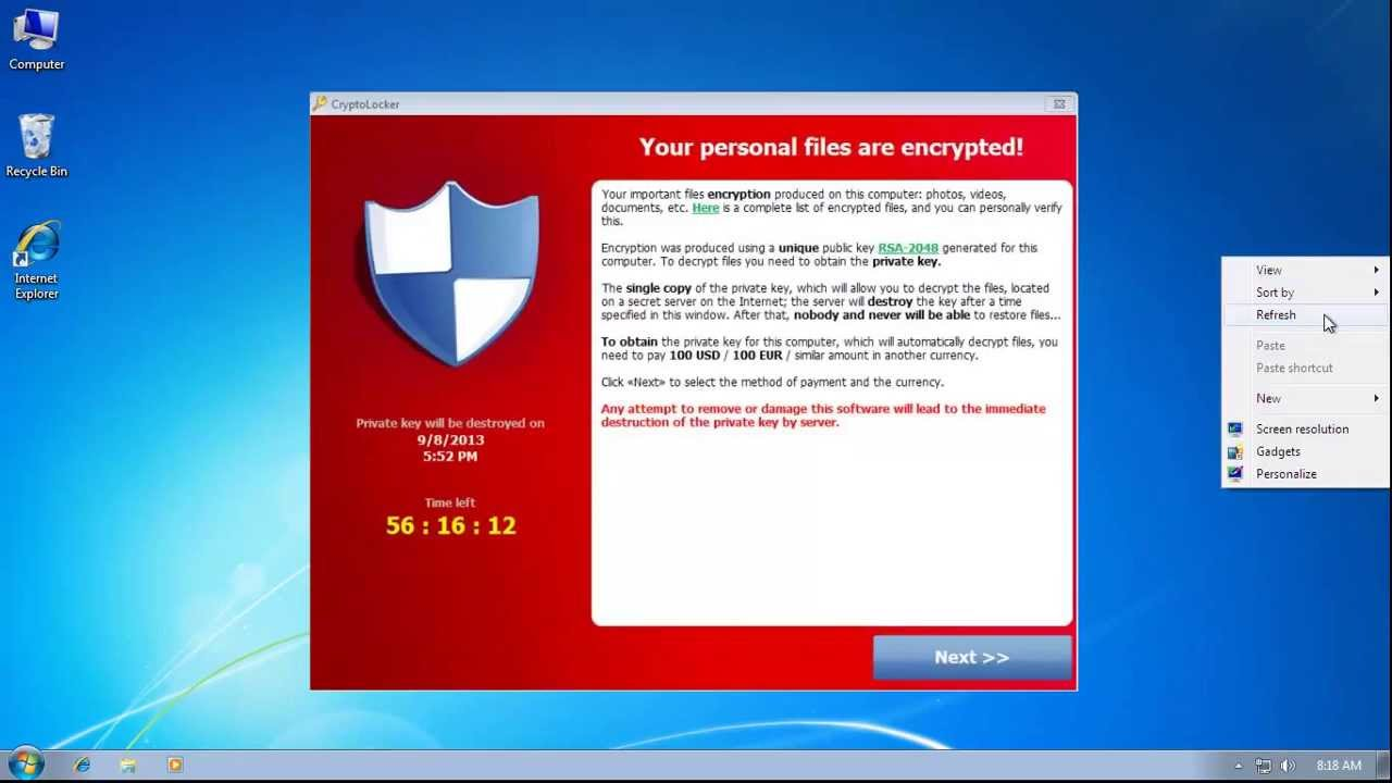 Best practices to avoid CryptoLocker Ransomware